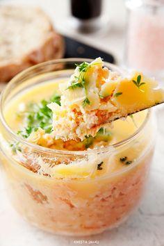 Egg & Salmon Paté