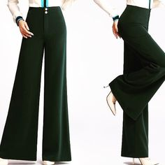 Shalena Straight High Waist Wide Leg Pants  http://shalena.ca #women #fashion #dress #shoes #coat #accessories #love #life #american #canadian #australia #newzealand #uk #england #france #germany #spain  #latestfashion #beautiful #happy #pretty #colorful #sweet #bestquality #shopping #womenfashion  #followforfollow #follow4follow #f4f #ifollowback