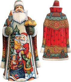 Masterpiece Signature Holiday Joy Santa Figurine