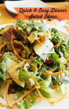 Ingredient ideas for summer salads~ Goodbye boring green, hello loaded with flavor