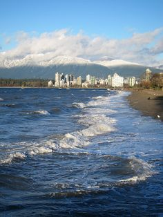 Kits beach, vancouver, this afternoon by Stephen Rees, via Flickr
