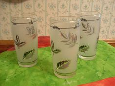 1960s Libbey Juice Glass