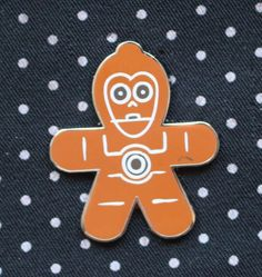 Disney Pin 2015 STAR WARS Gingerbread Series Mystery C-3PO