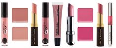 """PRODUCTS FEATURED ABOVE (LEFT TO RIGHT): MODELROCK LIQUID TO MATTE LIQUID LIPSTICK IN """"PURE POUT"""", INGLOT LIPSTICK SINGLES """"06""""(TOP)""""32""""(BOTTOM), KEVYN AUCOIN - THE ESSENTIAL MATTE LIPSTICK """"TIMELESS"""",MODELROCK LIQUID TO MATTE LIQUID LIPSTICK IN """"YOU MAUVE ME"""", FACEATELIER LIP GLAZE """"CAMEO"""", AJ CRIMSON """"BONDAGE"""", INGLOT LIPSTICK SINGLES """"40""""(TOP)""""53""""(BOTTOM), KEVYN AUCOIN - THE ESSENTIAL MATTE LIPSTICK """"INVINCIBLE"""", BECCA BEACH TINT LIP SHIMMER SOUFFLE """"LYCHEE/TOPAZ"""""""