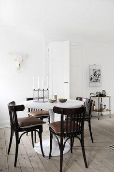 Tina Rud Pedersen's home, dining room.