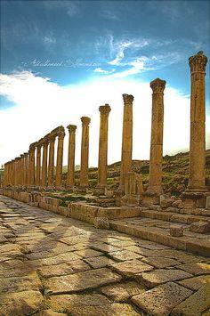 The Gerasa of Antiquity, Jerash, Jordan