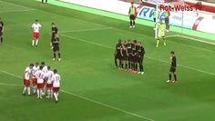 Free kick misdirection http://ift.tt/1Woc61r Love #sport follow #sports on @cutephonecases