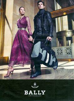 Mario Sorrenti - Photographer  Lori Goldstein - Fashion Editor/Stylist  Oriol Elcacho - Model  Christy Turlington - Model