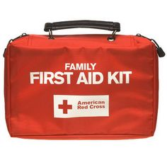 First Aid Kit--I carry one in my car and have one in the house.