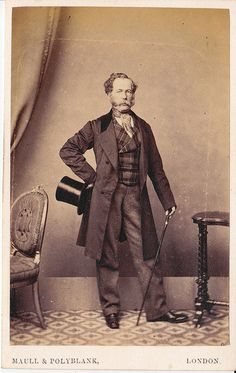CDV of an Aristocratic British Man by LJMcK, via Flickr