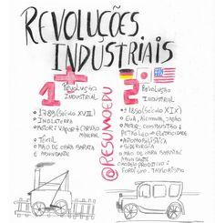 1ª e 2ª revolução industrial