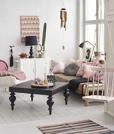 Tre stiler med samme møbler - Boligpluss.no