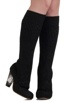 Girls' Knit Out Heel, #ModCloth
