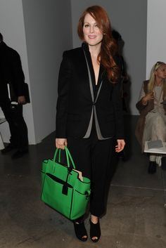 Julianne Moore Front Row at Reed Krakoff