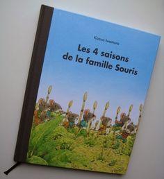 Butiner de livres en livres: Les 4 saisons de la famille Souris
