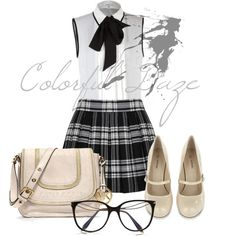 """""""Ho Hum to School~"""" by jokerxjester on Polyvore"""