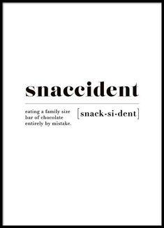 Snaccident Poster - - #Uncategorized