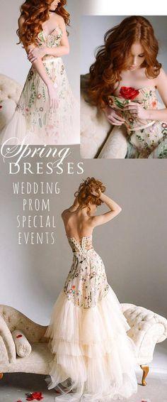 Gorgeous dress. Wedding. Prom. Special event. #wedding #prom #womens #dresses #eveninggowns #promdress #ad #weddingdress