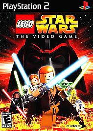 LEGO Star Wars: The Video Game (Sony PlayStation 2, 2005) PS 2 Everyone