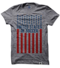 Buy the U.S. of Soccer shirt at http://worldfc.co/shop/usa
