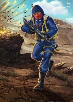 Cobra soldier
