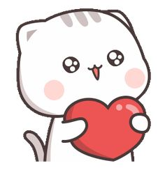 LINE Stickers Cutie Cat-Chan Jimao,Cutie Cat-Chan is coming again !,Stickers,Animated Stickers,Example with GIF Animation Cute Love Pictures, Cute Love Gif, Cute Love Memes, Cute Cat Gif, Cute Baby Cats, Cute Cartoon Pictures, Cute Love Cartoons, Chibi Cat, Cute Chibi