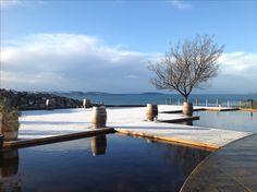 Let it snow! at Glen Albyn Estate #glenalbynestate #riverderwent