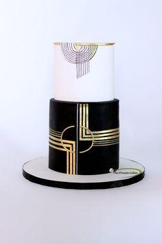 Finally got a chance to work on an art Deco cake