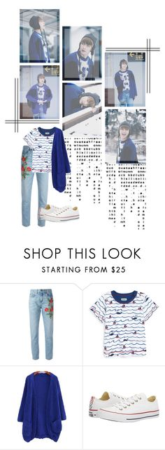 """Tae_Spring Day"" by jina-7 on Polyvore featuring GET LOST, Gucci, Hatley and Converse"