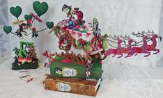 Artfully Musing: Holiday Sleigh with an Alice in Wonderland Twist – NEW TEA PARTY ALICE Collage Sheet & Digital Image Set