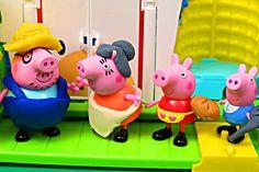 Peppa Pig Play-Doh Farm ✯ Peppa Pig Family Nickelodeon Julius Jr Amuseme...