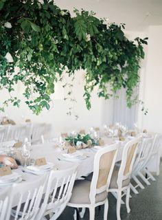 Цветы и зелень: 50 идей для подвесных композиций - The-wedding.ru