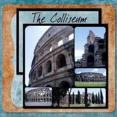 Rome - Colliseum - Pg 9 - Scrapbook.com
