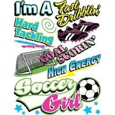 I'm A Fast Dribblin Hard Tackling Goal Scoring High Energy Soccer Girl by Mychristianshirts on Etsy