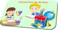 préparation de dictée, vocabulaire, primaire, cycle3