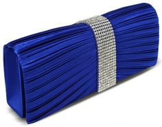 This beautiful blue clutch is perfect for the Inaugural Ball. It can hold your phone, camera and Inaugural Ball ticket!