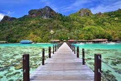Kota Kinabalu, Malásia: Localizada na costa oeste de Bornéu, a cidade conta com templos e praias de ... - Shutterstock