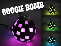 Fortnite Boogie Bomb Battle Royale Light Up LED Desk Prop Fortnite Game Fortnite Birthday Gift