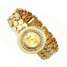 Women's Gold Watch made with SWAROVSKI ® ELEMENTS $99 (AUD)