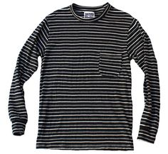 Sweatwater Men Long Sleeve Simple Henley Tops Solid Color Button Shirt Tees