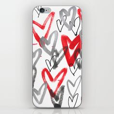 All kinds of hearts. iPhone & iPod Skin