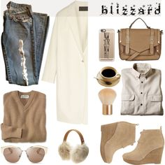How To Wear Brrrrr! Winter Blizzard Outfit Idea 2017 - Fashion Trends Ready To Wear For Plus Size, Curvy Women Over 20, 30, 40, 50