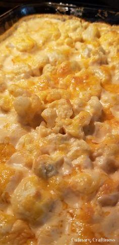 Keto Cheesy Cauliflo