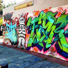 Street Art @ Guadalajara, México.