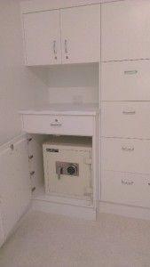 Hide a safe or conceal a safe Safe in a cupboard Small Safe, Hidden Safe, Closet Safe, Walk In Closet, Home Safe Box, Bamboo Blinds, Master Bedroom Closet, Small Closets, Secret Rooms