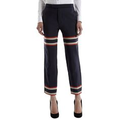 SEA striped accented pant