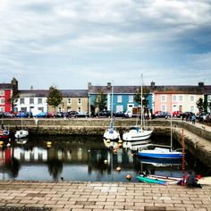 Wales' answer to Balamory Quay West, Newquay, Swansea, Travel Bugs, Welsh, Great Britain, Fathers, Landscapes, Places To Visit