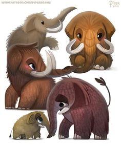 100 Idees De Mammouth Mammouth Prehistorique Animaux Prehistoriques