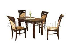 FERNANDO Stół + 4 krzesła, galeria zdjęć