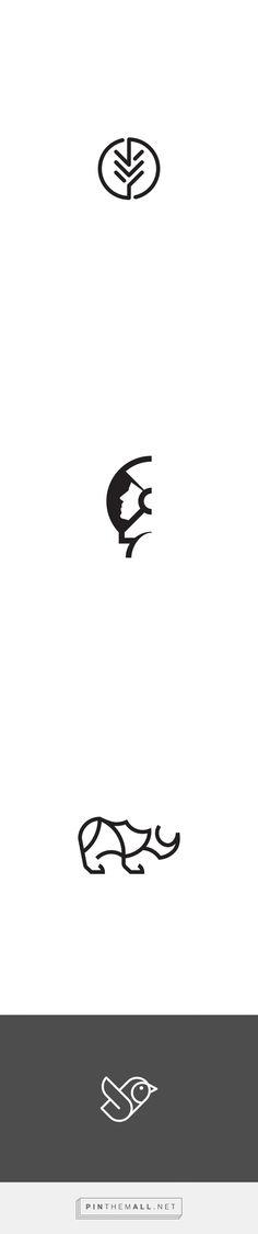 Logo ideas based on faces. Typography Logo, Logo Branding, Typography Design, Brand Identity Design, Icon Design, Branding Design, Logo Creation, Personal Logo, Monogram Logo